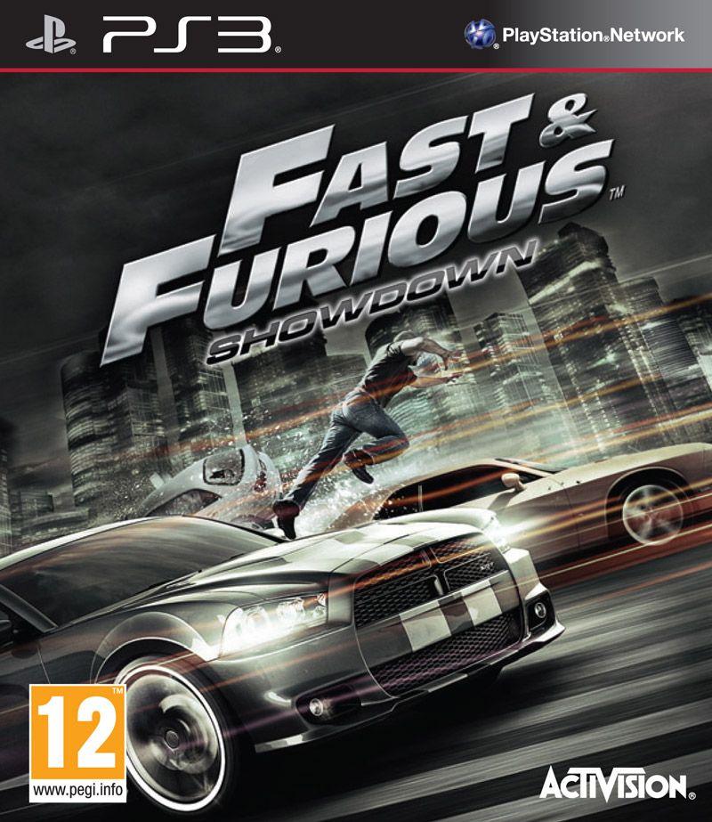 Portada 'Fast&Furious: Showdown' PS3