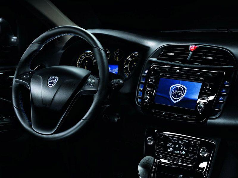 Interior del Lancia Delta S