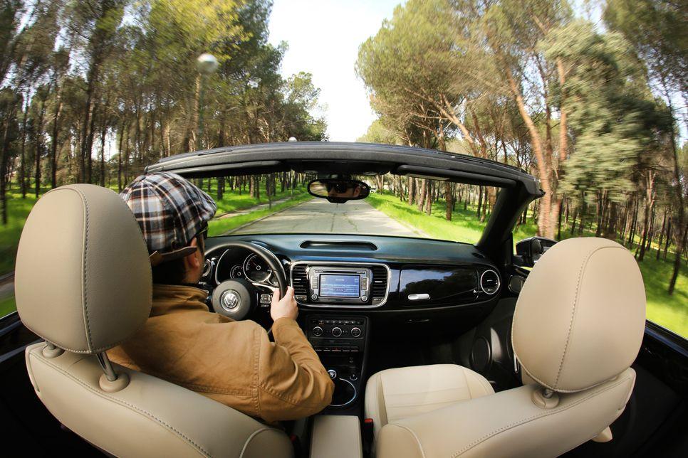 VW Beetle Cabrio TDI