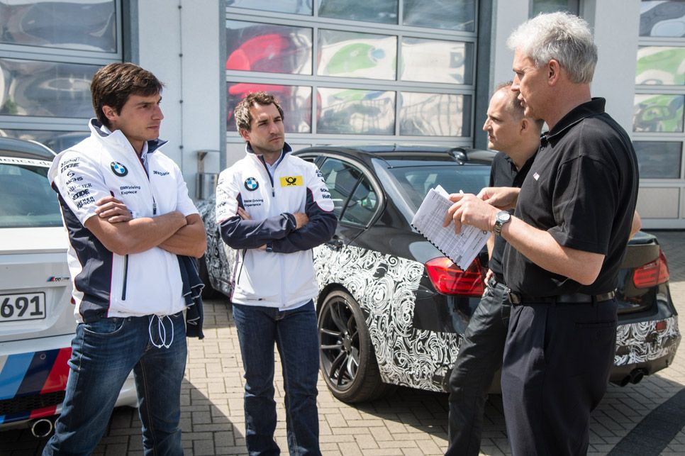 Bruno Spengler y Timo Glock, pilotos del DTM con BMW, participan en el desarrollo de los nuevos BMW M3 y M4