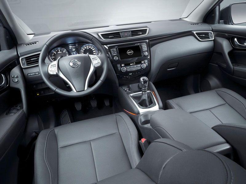Interior Nissan Qashqai II