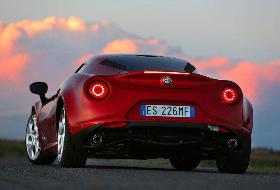 Alfa Romeo 4C fotos