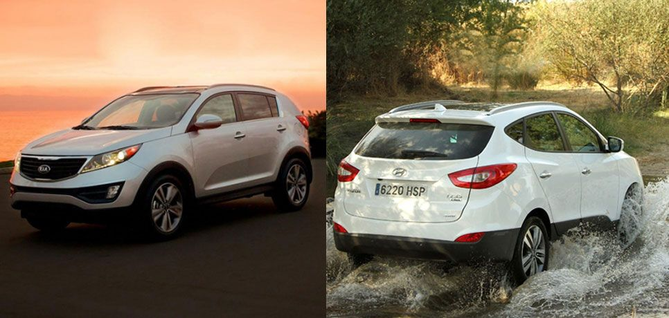 Hyundai ix5 y Kia Sportage