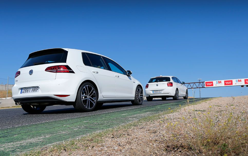 BMW 120d vs Volkswagen Golf GTD