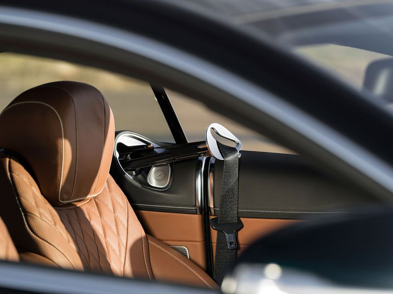 Mercedes Clase S Coupé interior