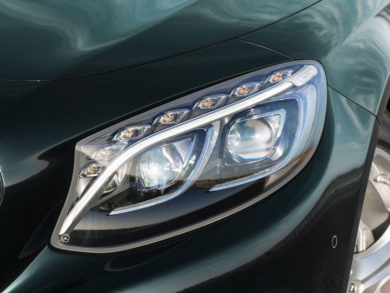 Mercedes Clase S Coupé exterior