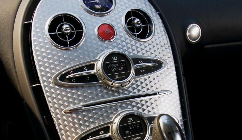 Bugatti empleó un equipo Burmester para el Veyron