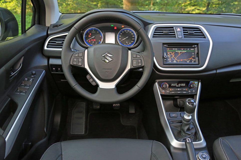 Prueba Suzuki SX4 S-Cross