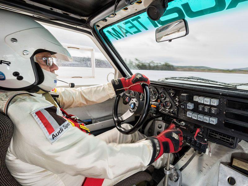 De rallye con Stig Blomqvist