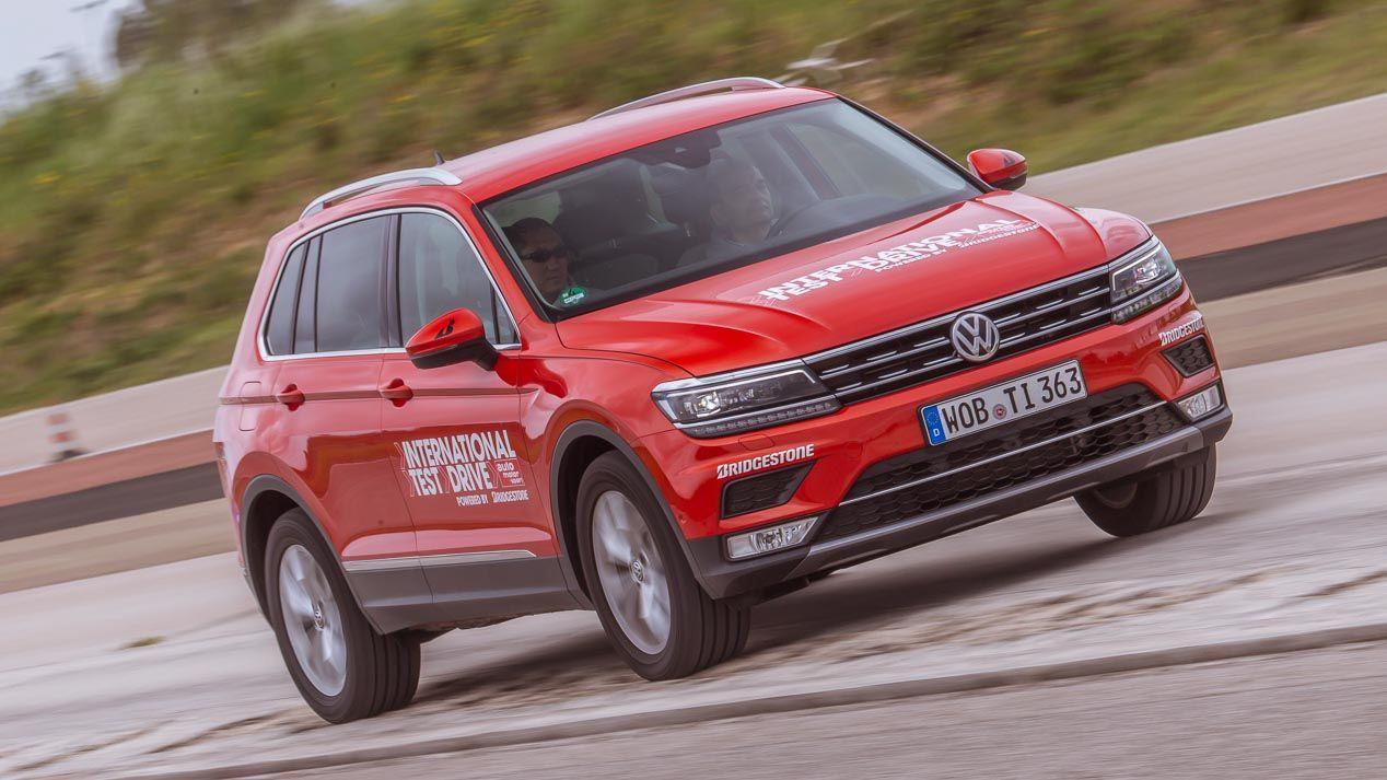 International Test Drive: VW Tiguan vs Audi Q3, BMW X1 ...
