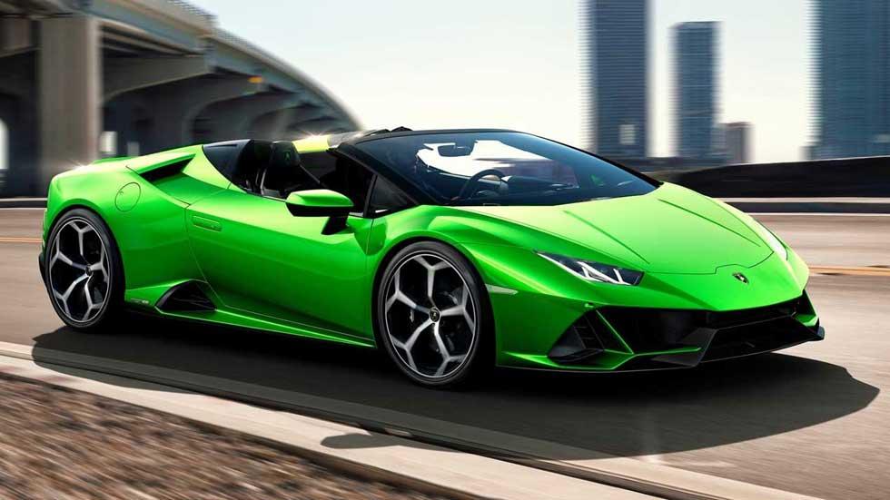 Lamborghini Huracan Evo Spyder - alquiler-de-coche-de-lujo-marbella