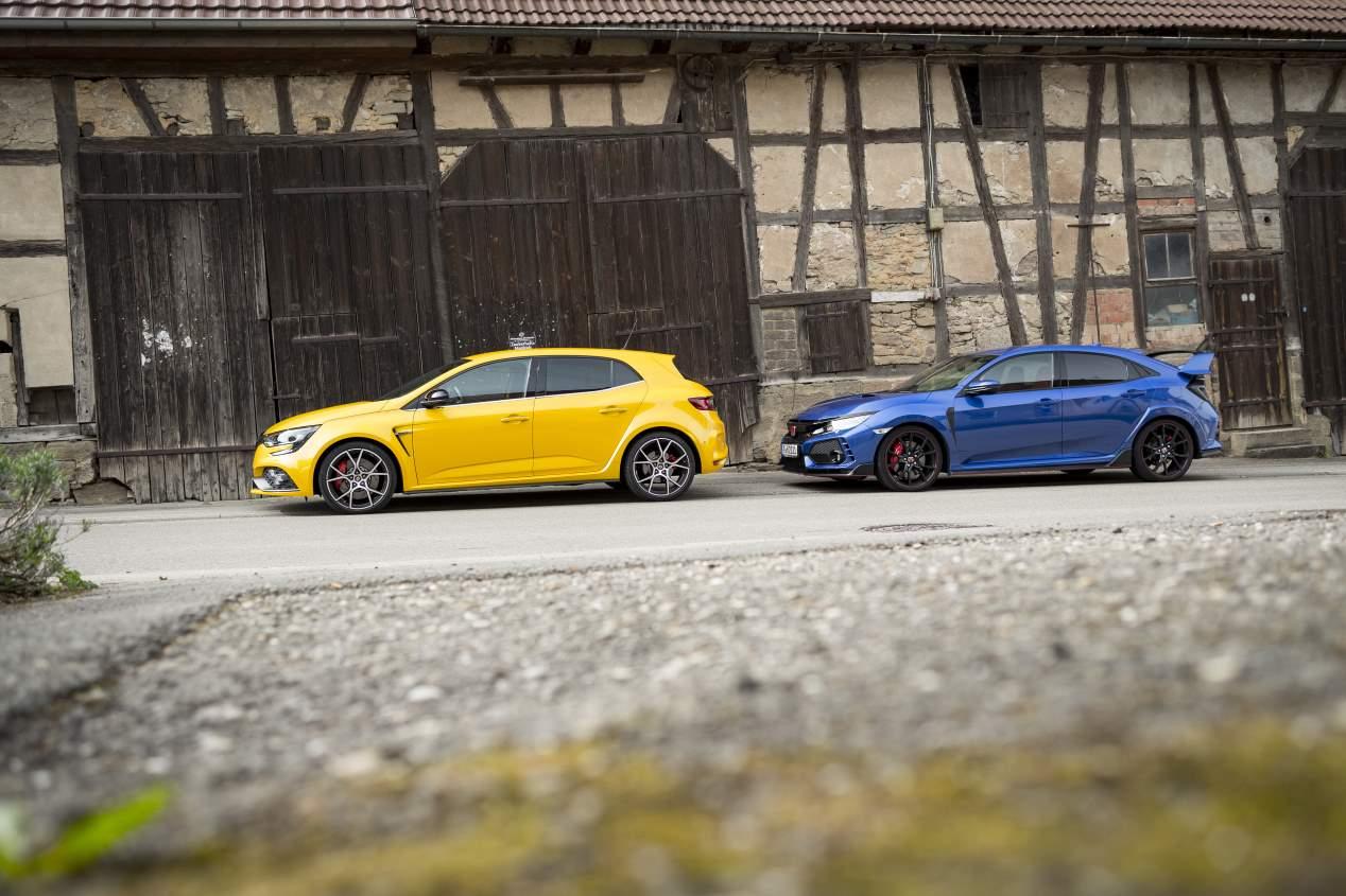 Comparativa GTI: Honda Civic Type R vs Renault Mégane RS ...