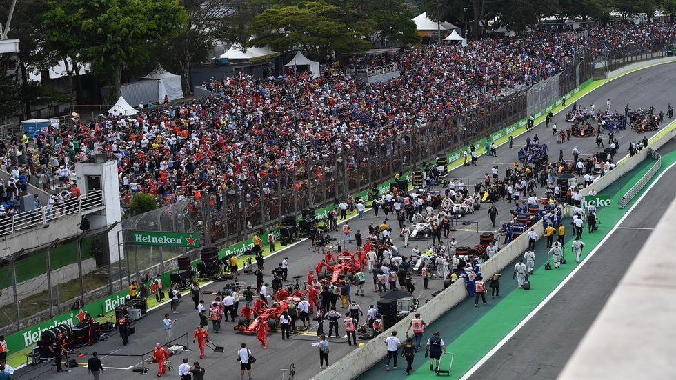 Gp De Brasil De F1 Parrilla De Salida