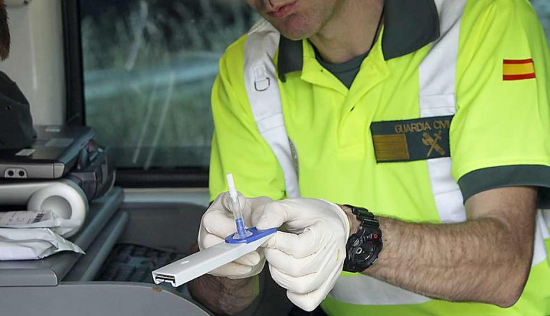 La tecnología de la DGT que hará 800.000 controles de drogas al año