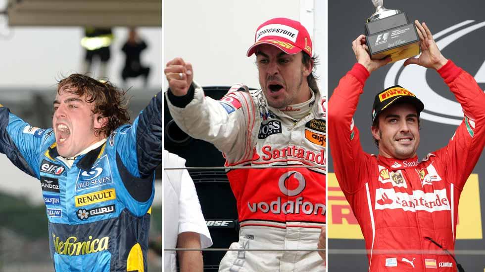Fernando Alonso, el palmarés y la biografía de un gran campeón