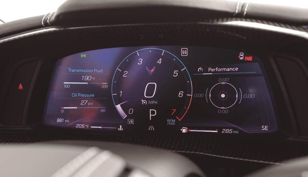 Chevrolet Corvette C8 2021