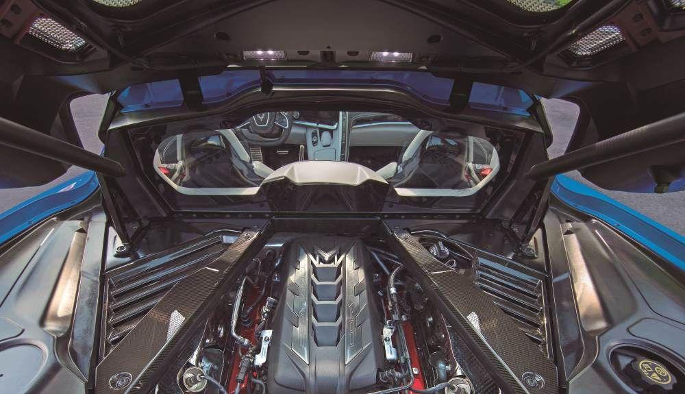 Chevrolet Corvette C8 2021: nuevo motor central V8