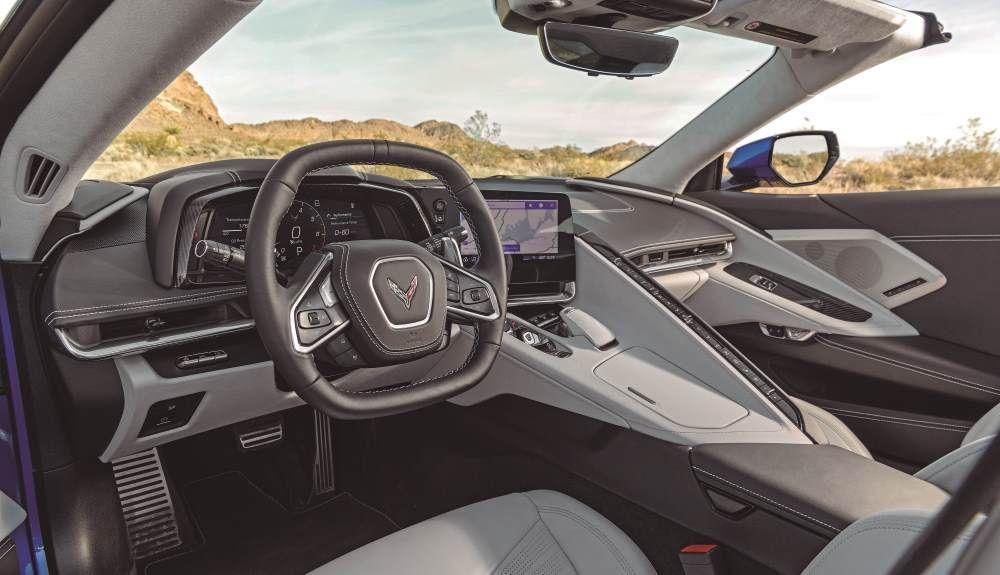 Chevrolet Corvette C8 2021: así es su interior