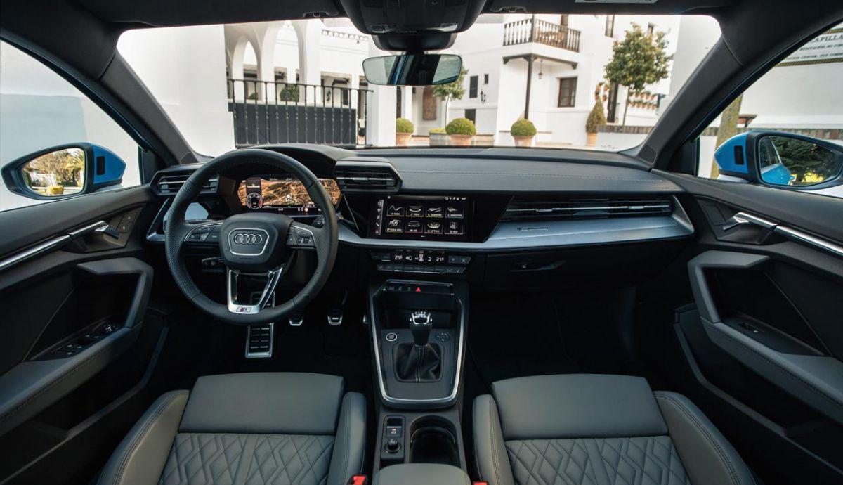 Interior del nuevo Audi A3 Sportback 30 TDI.
