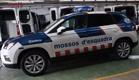 Este es el nuevo coche de los Mossos d'Esquadra