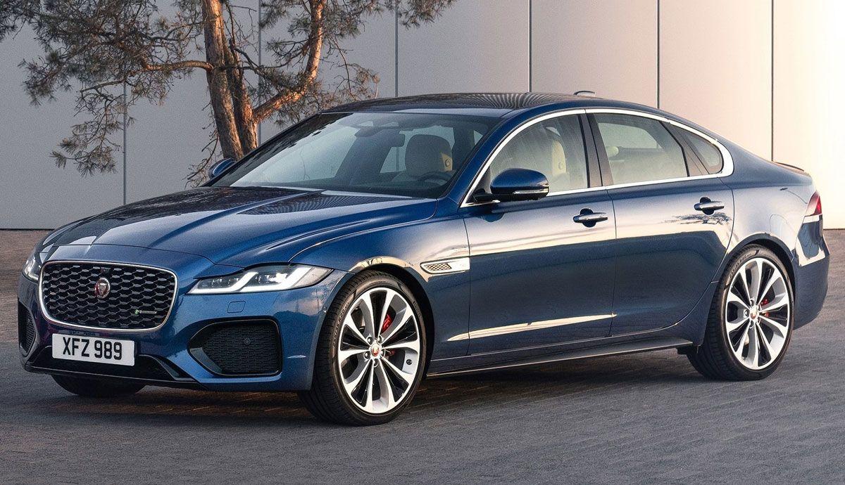 Jaguar XF 2021: todas las fotos y datos de la nueva berlina