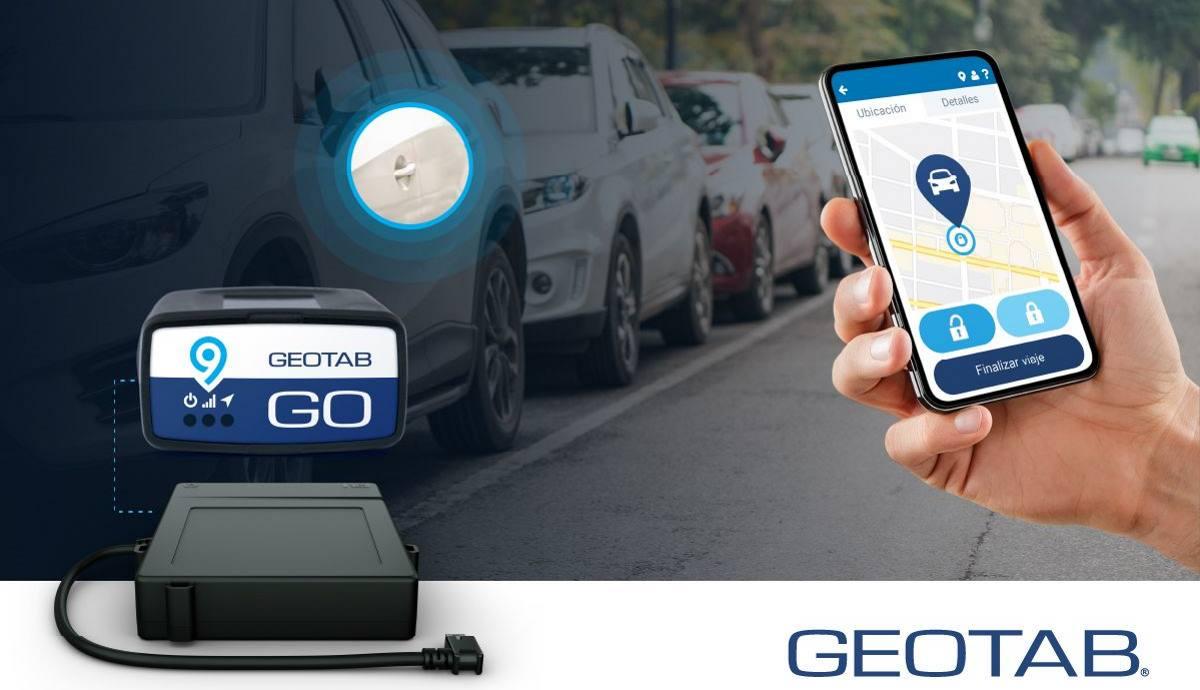 Así es la solución de apertura de coche con móvil de Geotab para flotas de carsharing