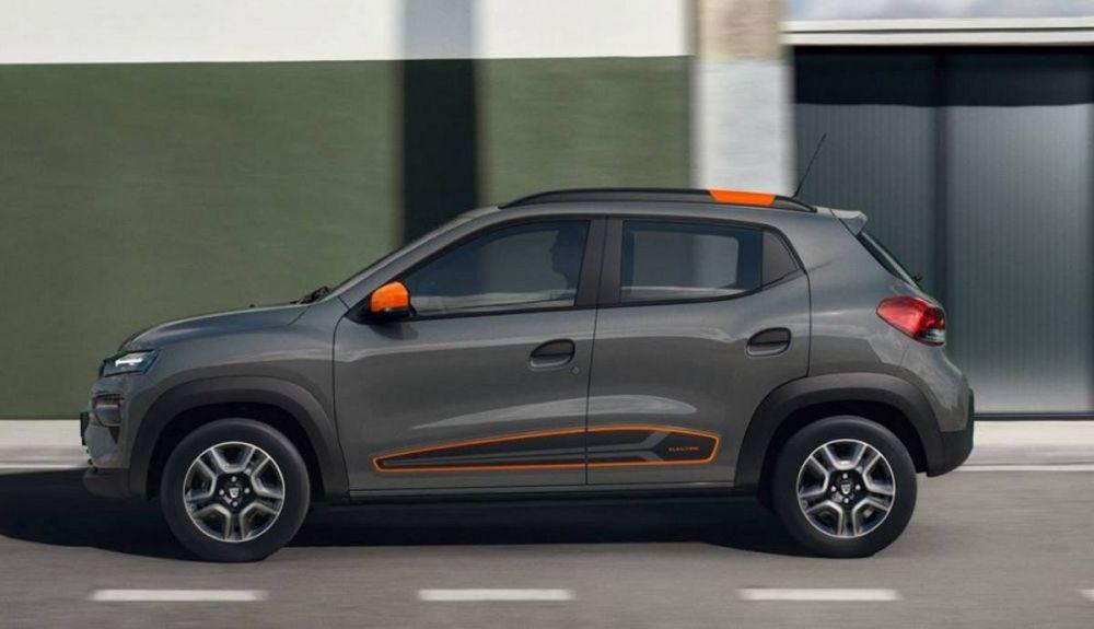 Contenido tamaño del Dacia Spring eléctrico.