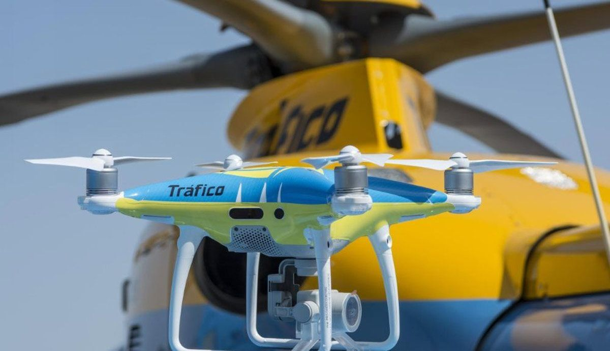 Where will the drones of the DGT be during this Holy Week.