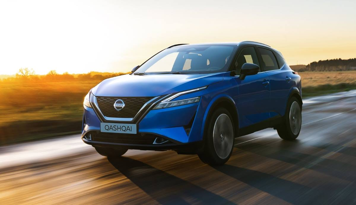 Now on sale in Europe the Nissan Qashqai 2021