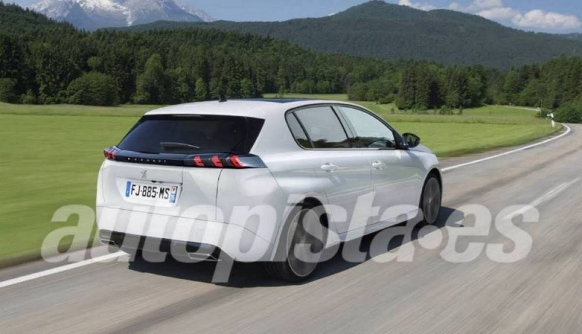 The new Peugeot 308 SW station wagon will begin to be sold in early 2022 (Image: Schulte)