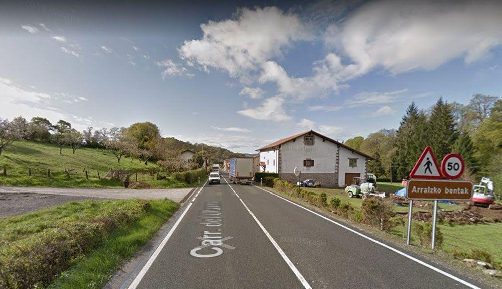 Ventas de Arraitz (Navarra) contará con nu nuevo radar debido a la alta siniestralidad