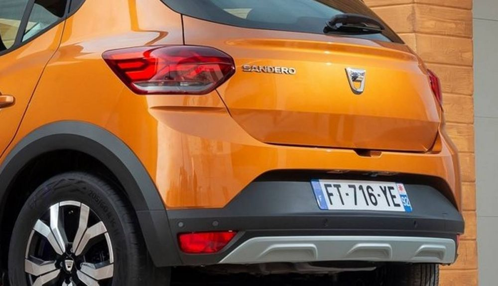 Some details of the exterior of the Sandero Stepway could be seen in the Duster 2021