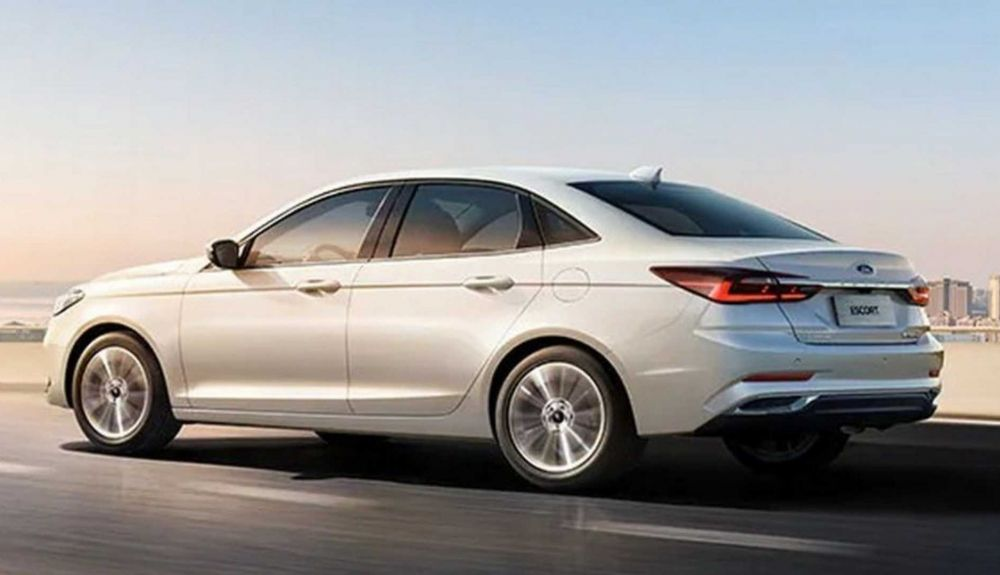 Ford Escort 2021: this is the model that is sold in China.