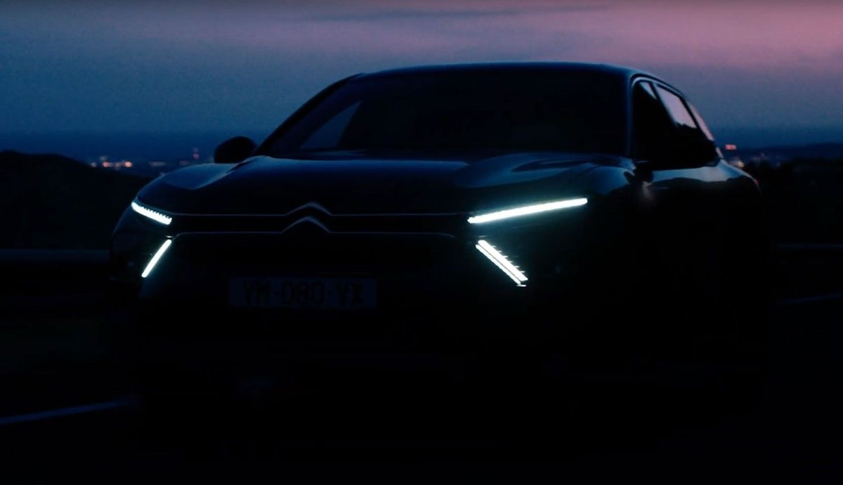 Citroën C5 or C6 2021?  First data, photos and video of the new crossover