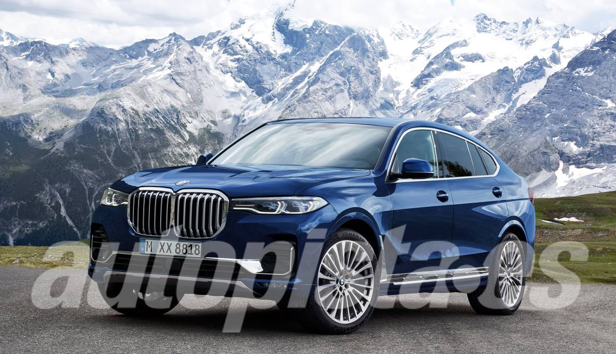 This could be the new BMW X8 2022, according to our illustrator Schulte