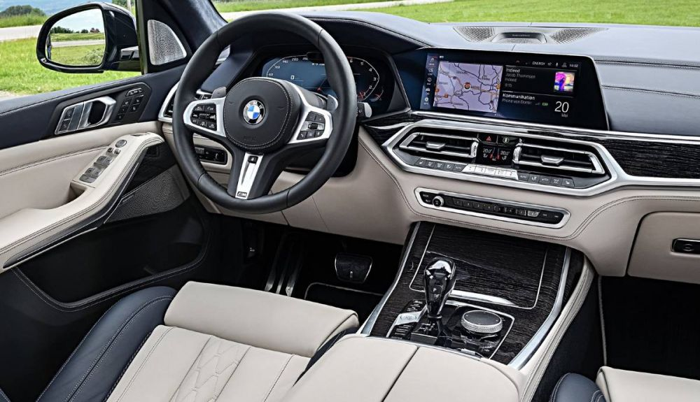 Appearance of the interior of the BMW X7