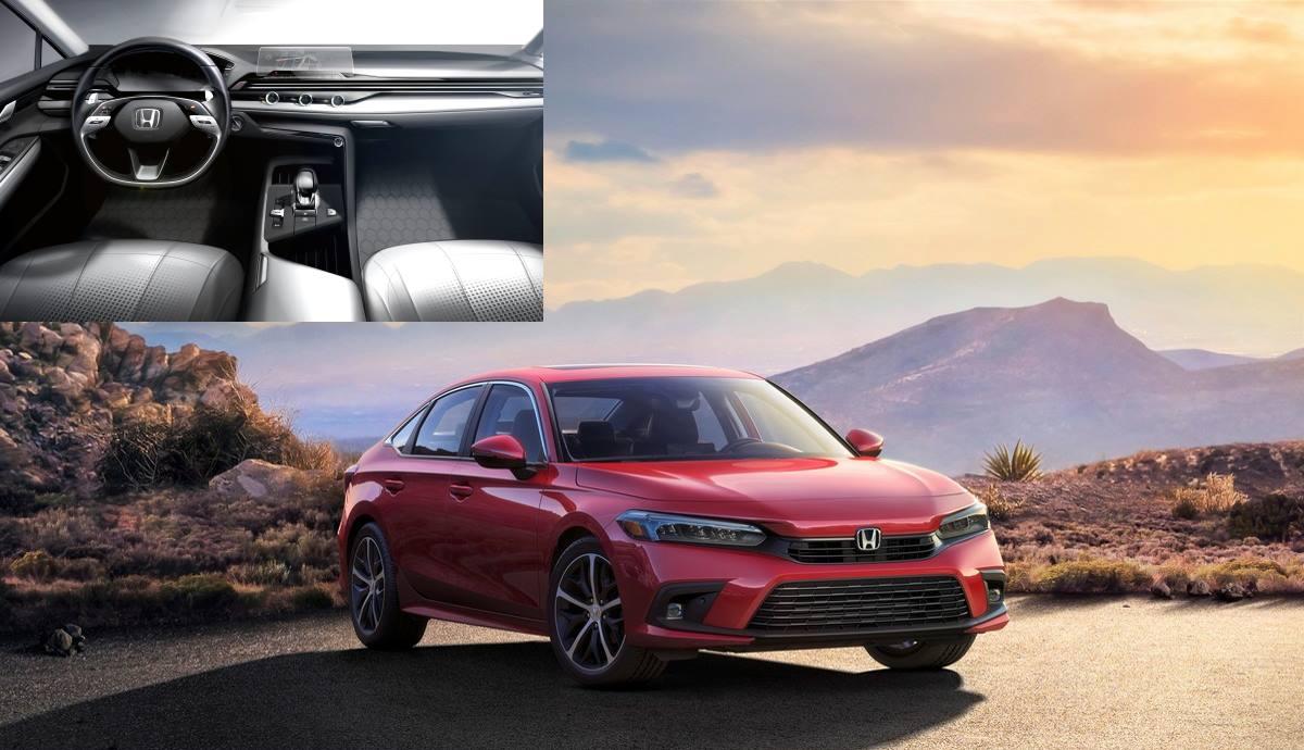 Eleventh-generation Civic with new Honda interior