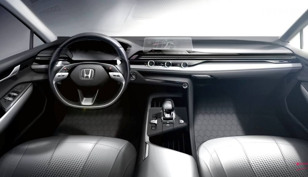 The interior of the new Honda cars, in detail