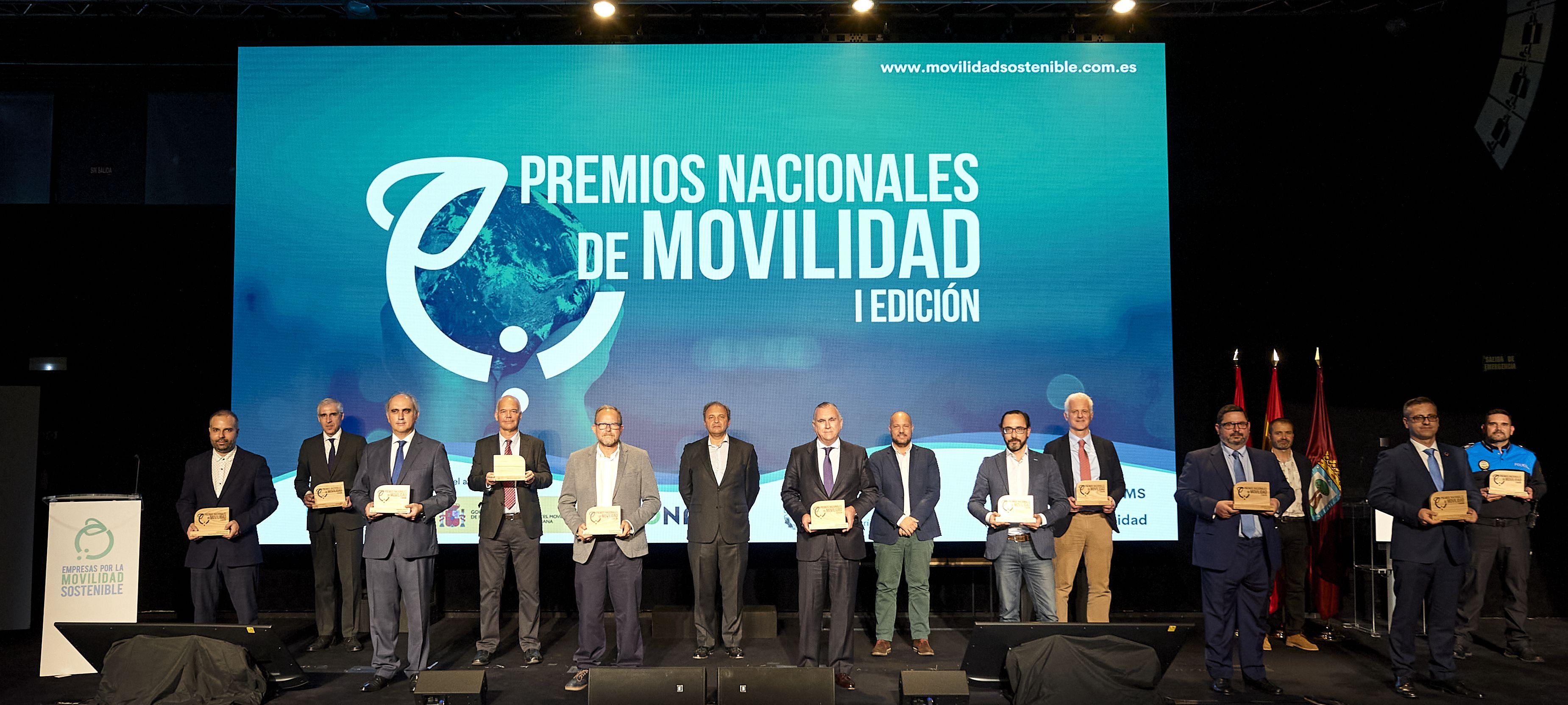 Estos son los ganadores de los Premios Nacionales de Movilidad
