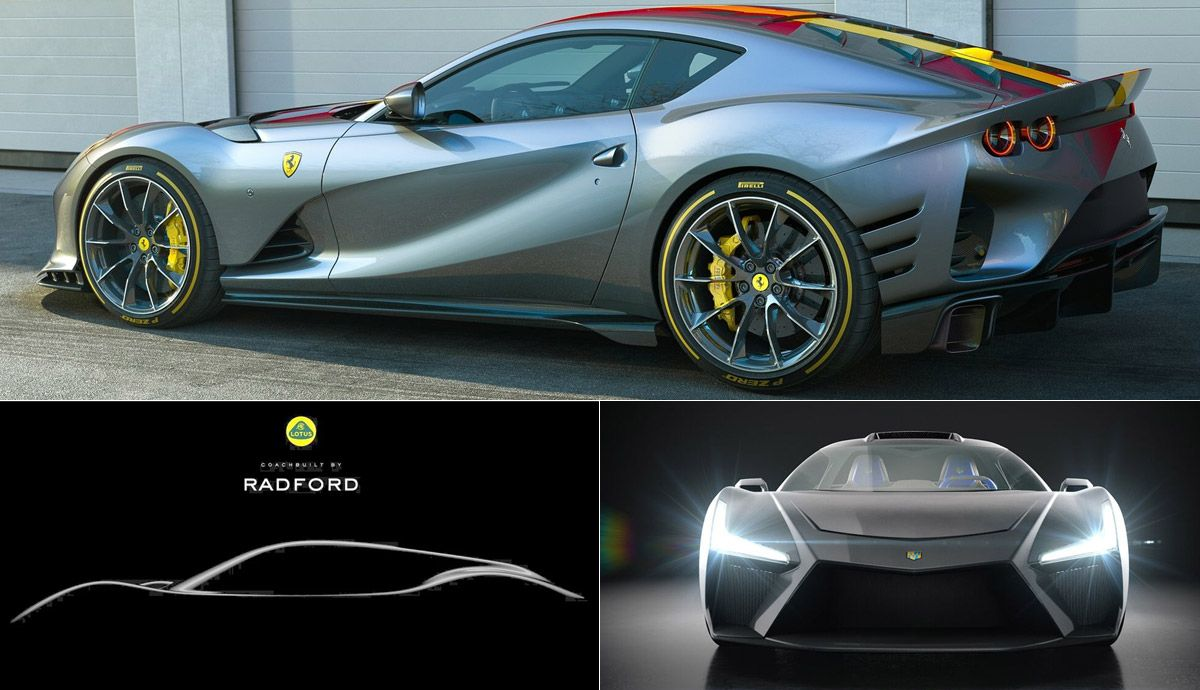 The new supercars to come.