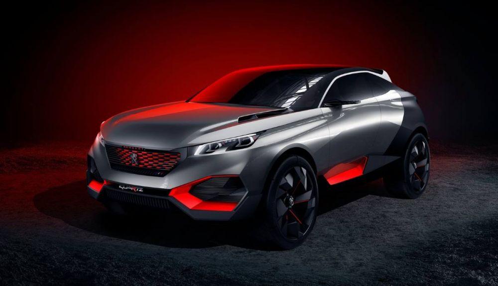The Peugeot Quartz Concept could enter the future 3008 and 5008