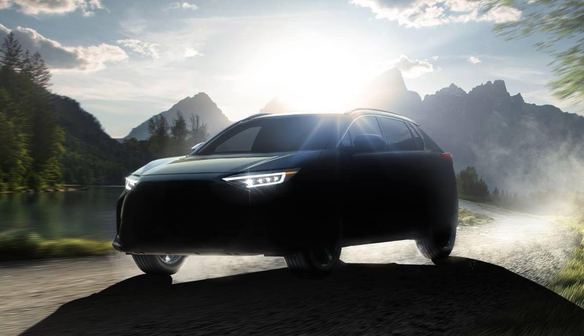 Subaru Solterra 2022 first teaser