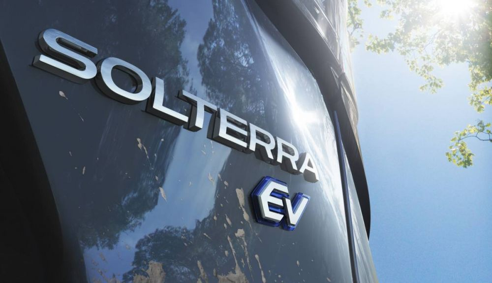 The Subaru Solterra will be one hundred percent electric