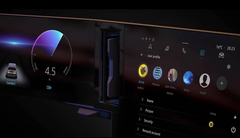 Inside, the new Kadjar will debut the screens already announced at the Mégane E-Tech.