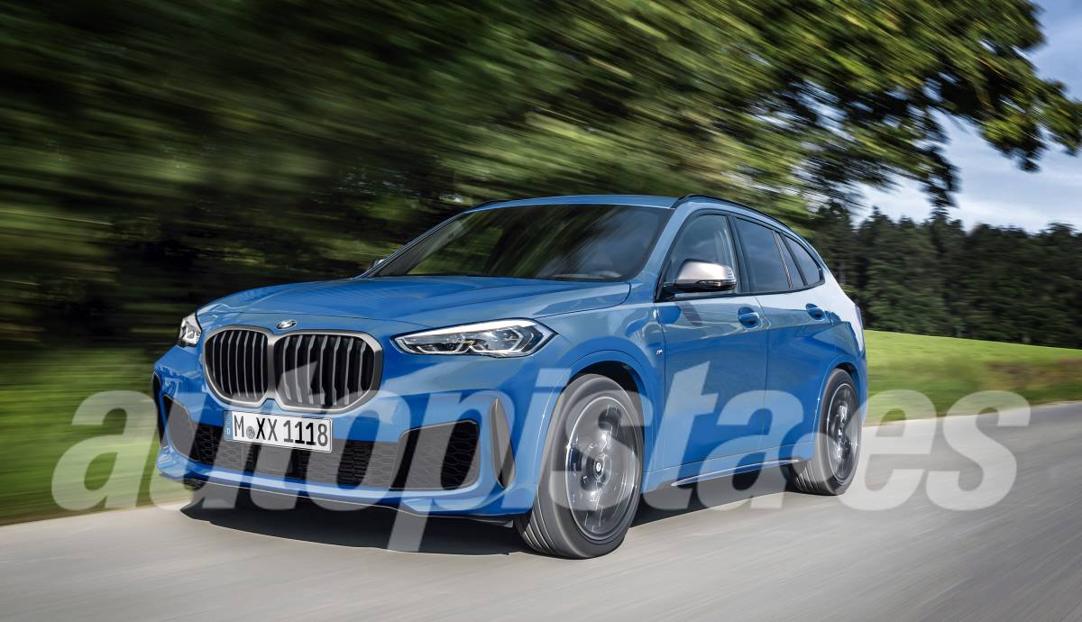 BMW X1 2022 according to our illustrator Schulte
