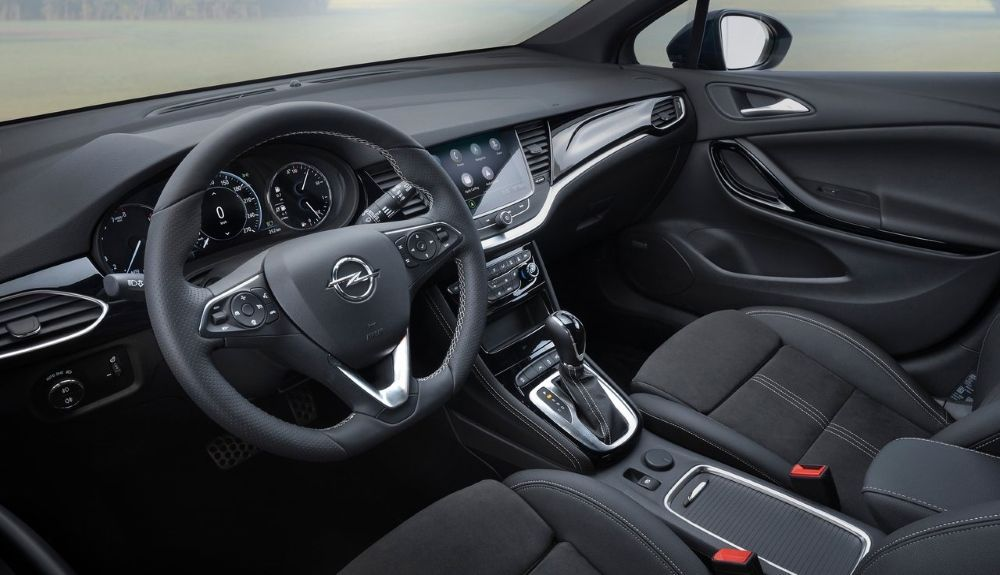 Opel Astra 2021: this is its interior.