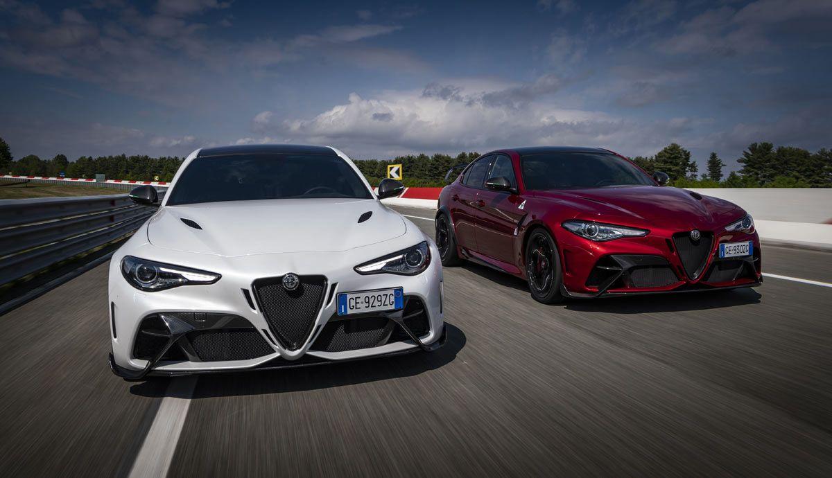 New Alfa Romeo Giulia GTA and GTAm.