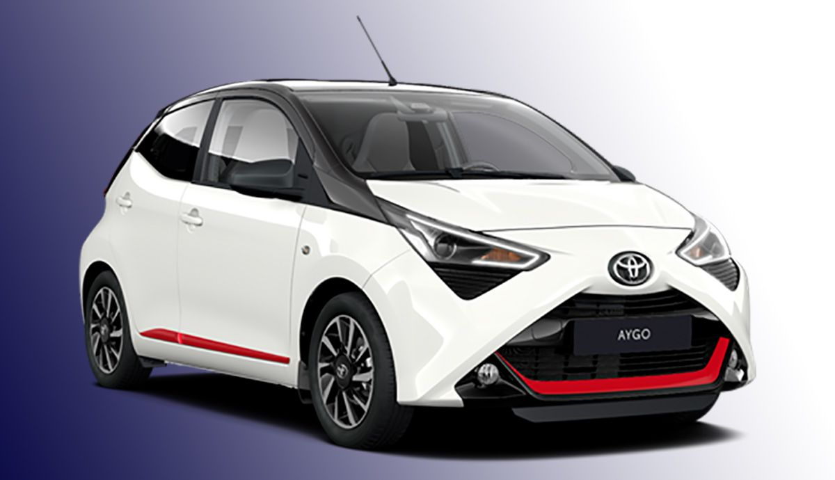 The Toyota Aygo is updated and incorporates a new x-sport version.