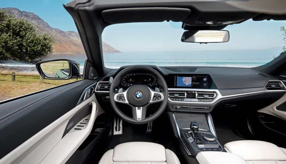 BMW 4 Series Convertible 2021: this is its interior.