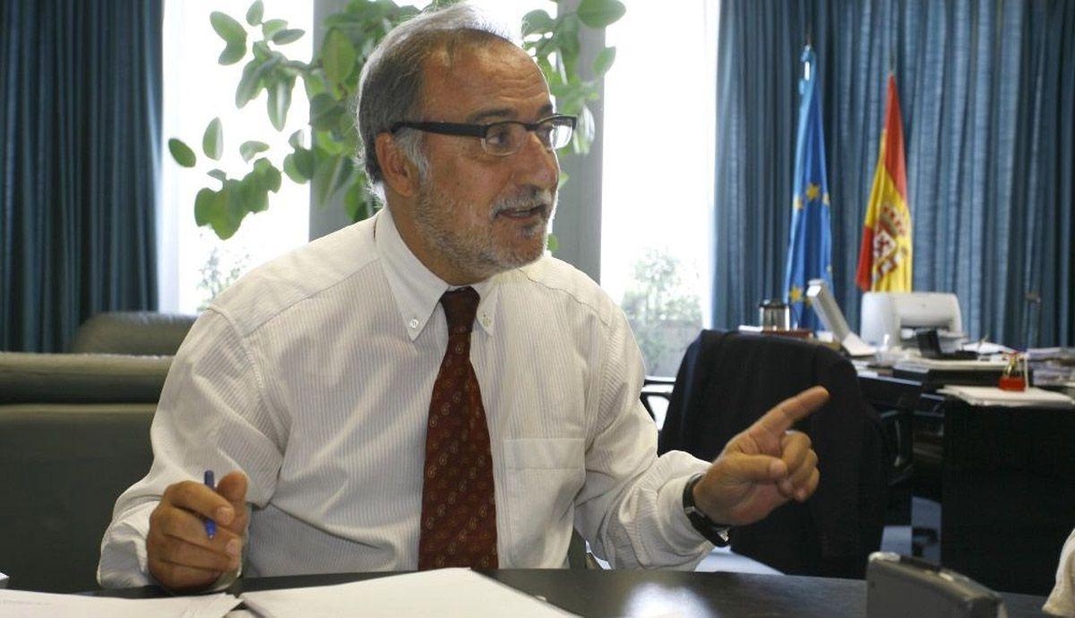 Pere Navarro refers to the average age of the Spanish automobile fleet.